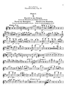 Harold en Italie, Symphonie avec un alto... Volume Œuvre 16 ; H 68 by Berlioz, Hector