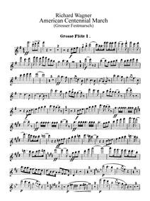 Großer Festmarsch, WWV 110 (American Cen... by Wagner, Richard