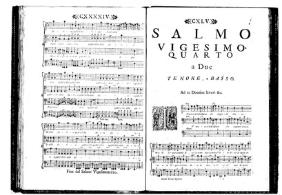 Estro poetico-armonico (Parafrasi sopra ... Volume SF 601-651 by Marcello, Benedetto