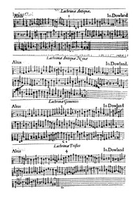 Lachrimae, or Seven Tears (Lachrimae, or... by Dowland, John