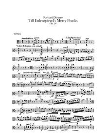 Till Eulenspiegels lustige Streiche, Op.... Volume Op.28 ; TrV 171 by Strauss, Richard