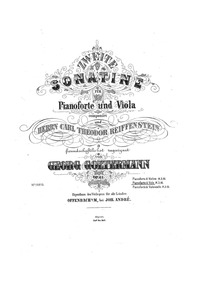 Sonatina No.2, Op.61 : Piano Score and V... Volume Op.61 by Goltermann, Georg