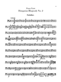 Hungarian Rhapsody No.2 (Lento a capricc... Volume S.244/2 ; LW.A132/2 by Liszt, Franz