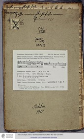 Zähle meine Flucht, GWV 1154/12b : Compl... Volume GWV 1154/12b by Graupner, Christoph