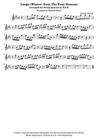Violin Concerto in F minor (L'inverno (W... Volume RV 297 (Op.8 No.4) by Vivaldi, antonio