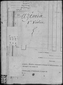 Azémia ou les sauvages (Opéra comique en... Volume Op.7 by Dalayrac, Nicolas
