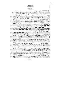 Cello Sonata, Op.42 (Cello Sonata No.2 i... Volume Op.42 by Franck, Eduard