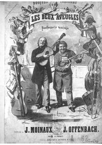Les deux aveugles : Complete Score by Offenbach, Jacques