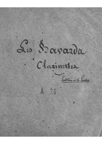 Les bavards : Clarinet 1/2 (C, ♭;, A) by Offenbach, Jacques