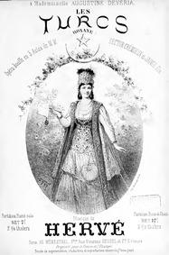 Les Turcs (Roxane) (Opéra-bouffe en troi... by Hervé