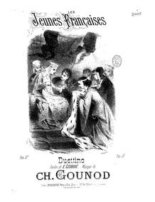 Les deux reines (Drame lyrique en quatre... by Gounod, Charles