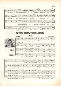 Adoramus te Christe : Complete Score (co... by Palestrina, Giovanni Pierluigi da