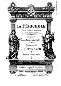 La Périchole (Opéra bouffe en trois acte... by Offenbach, Jacques