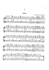 Four-handed Piano Pieces (Vierhändige Cl... Volume Op.54 by Reinecke, Carl