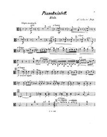 Piano Quintet (Pianokvintett. Piano, 2 v... by Berg, Natanael