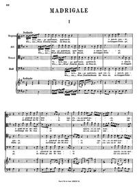 Vola il tempo : Complete score by Caldara, Antonio