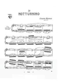 Notturnini, Op.42 : No.3 in E♭ flat Volume Op.42 by Martucci, Giuseppe