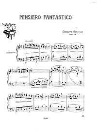 7 Pezzi, Op.43 : No.4 Pensiero fantastic... Volume Op.43 by Martucci, Giuseppe