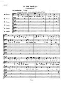 Edel sei der Mensch (Let Man Be Noble) :... Volume WoO 185 by Beethoven, Ludwig van