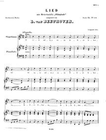 O care selve (Lied aus Metastasio's 'Oli... Volume WoO 119 by Beethoven, Ludwig van