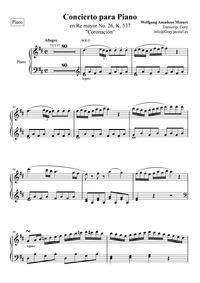 Piano Concerto No.26 (Krönungskonzert ; ... Volume K.537 ; Op.46 by Mozart, Wolfgang Amadeus