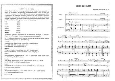 Schlummerlied, Op.76 : Complete Score an... Volume Op.76 by Volkmann, Robert