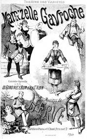 Mam'zelle Gavroche (Comédie-opérette en ... by Hervé