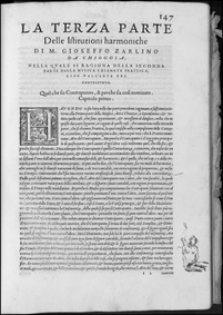 Le Istitutioni Harmoniche (Le istitution... by Zarlino, Gioseffo