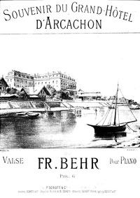 Souvenir du Grand Hôtel d'Arcachon (Vals... by Behr, Franz