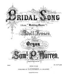 Hochzeitsmusik (Hochzeitsmusik (Wedding ... Volume Op.45 by Jensen, Adolf