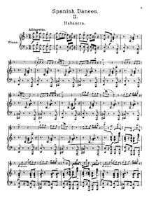 Spanish Dances, Op.21 : 2. Habañera Volume Op.21 by Sarasate, Pablo de