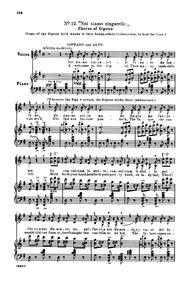 La traviata (The Fallen Woman) : 12. Cho... by Verdi, Giuseppe