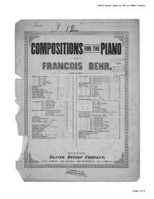 Le petit concert, Op.542 (Le Petit Conce... Volume Op.542 by Behr, Franz