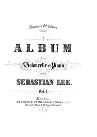 6 Pieces, Op.15 : Piano Score and Cello ... Volume Op.15 by Reber, Napoléon Henri