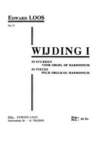 20 stukken voor orgel of harmonium : Com... Volume Op.12 by Loos, Edward