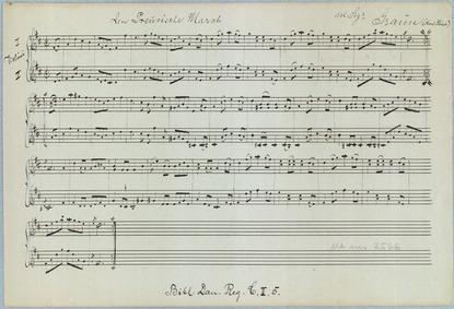 Preussischer Marsch : Complete Score by Graun, Karl Heinrich