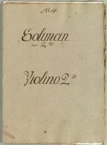 Soliman den Anden : Violins II by Walter, Thomas Christian