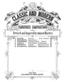 6 Fantasy Pieces : No.2: Allegretto Volume Op.50 by Scharwenka, Xaver