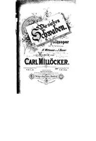 Die sieben Schwaben (Volksoper in 3 Akte... by Millöcker, Carl