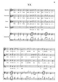 Puis que ce beau mois : Complete score by Costeley, Guillaume