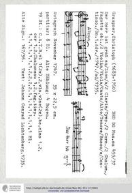 Der Herr ist gross zu Zion, GWV 1101/47 ... Volume GWV 1101/47 by Graupner, Christoph