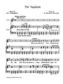 Songs of Travel : Complete Score (High V... by Vaughan Williams, Ralph
