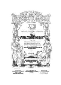 String Octet, Op.20 : Violin 4 Volume Op.20 by Mendelssohn, Felix