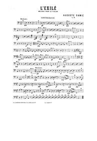 L'exilé (Mélodie pour le violon avec acc... Volume Op.2 by Samie, Auguste