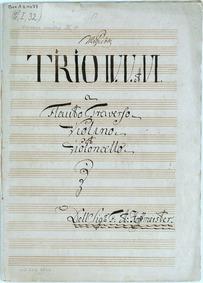 6 Trios : Complete Parts by Hoffmeister, Franz Anton