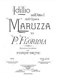 Maruzza (Scene liriche popolane in tre a... by Floridia, Pietro
