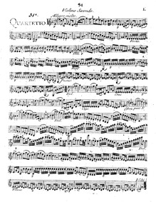 6 String Quartets, G.183-188 (Op.22) : V... Volume Op.22 in Boccherini's autograph catalogue ; published as Op.26 by Boccherini, Luigi