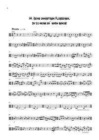 Stringquartett : Viola Volume WWV 145 by WesenAuer, Peter