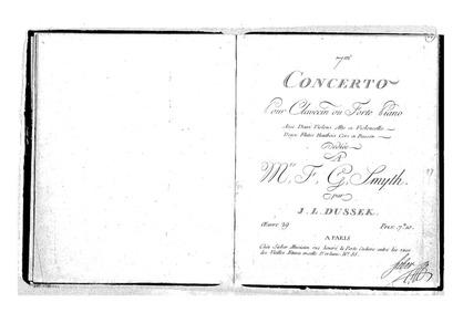 Piano Concerto No.7, Op.29 : Piano Solo Volume Op.29 by Dussek, Jan Ladislav
