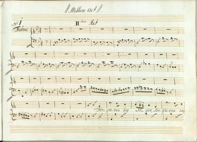 Selim og Mirza : Act II by Zinck, Hartenack Otto Conrad